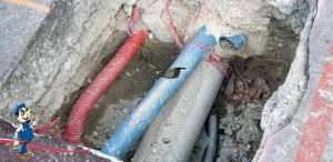 plumbing repair sewer pipes