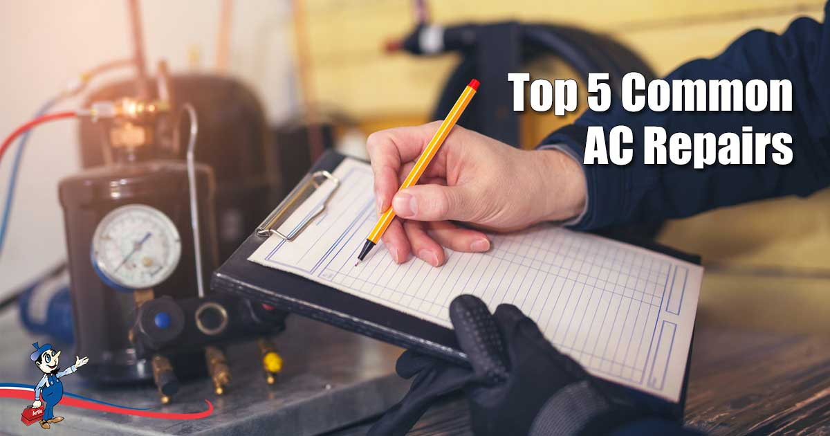 common AC repairs