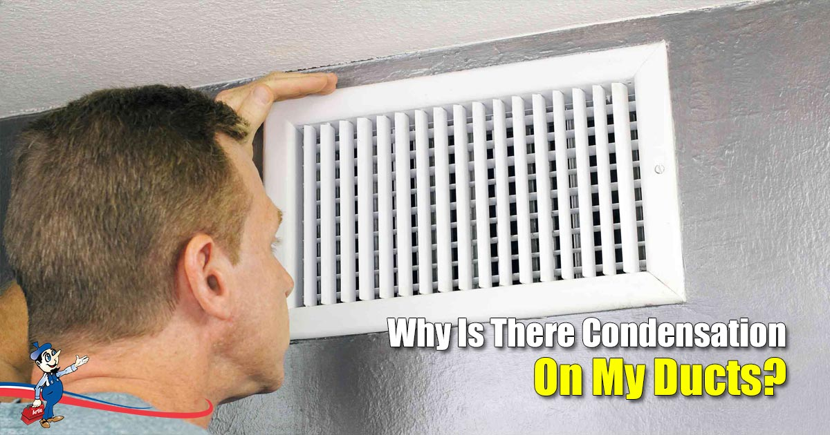 Condensation On My Ducts