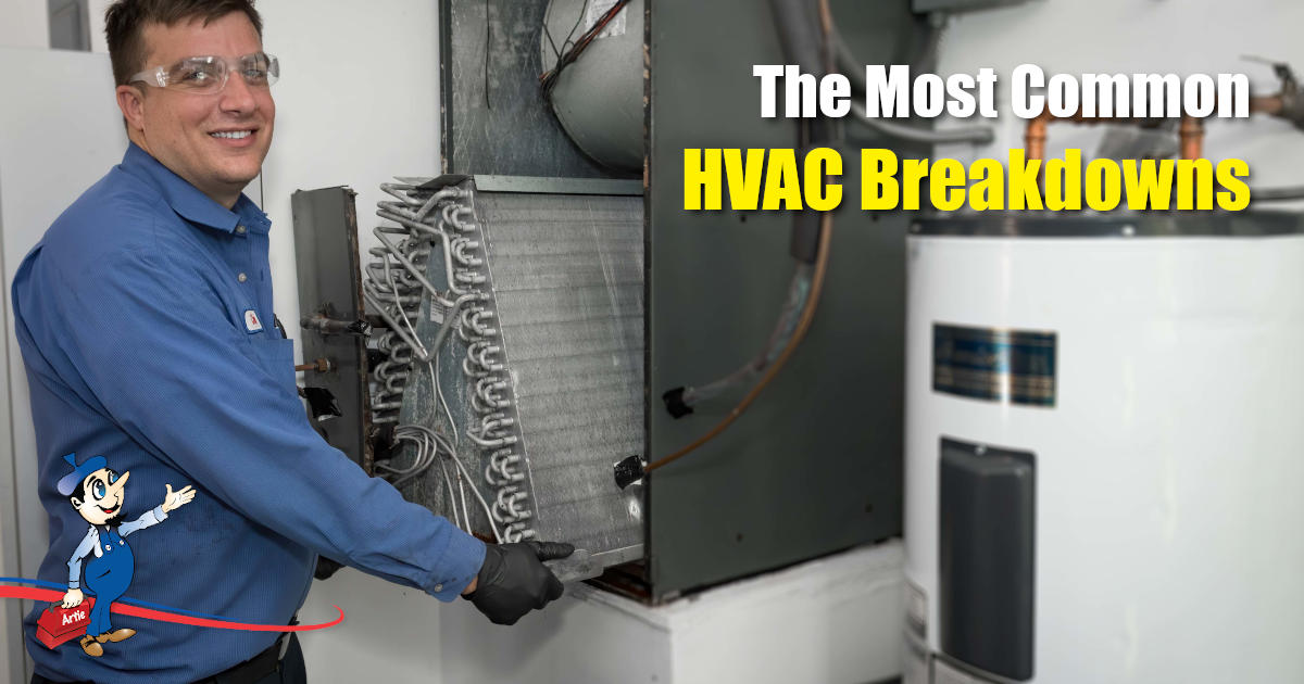 hvac breakdowns